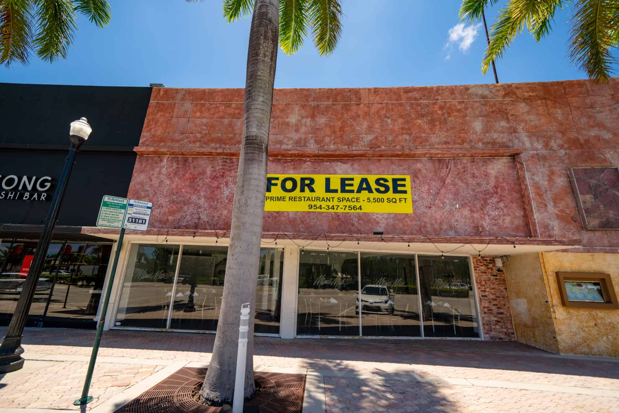Prime restaurant space for rent for potential business owner
