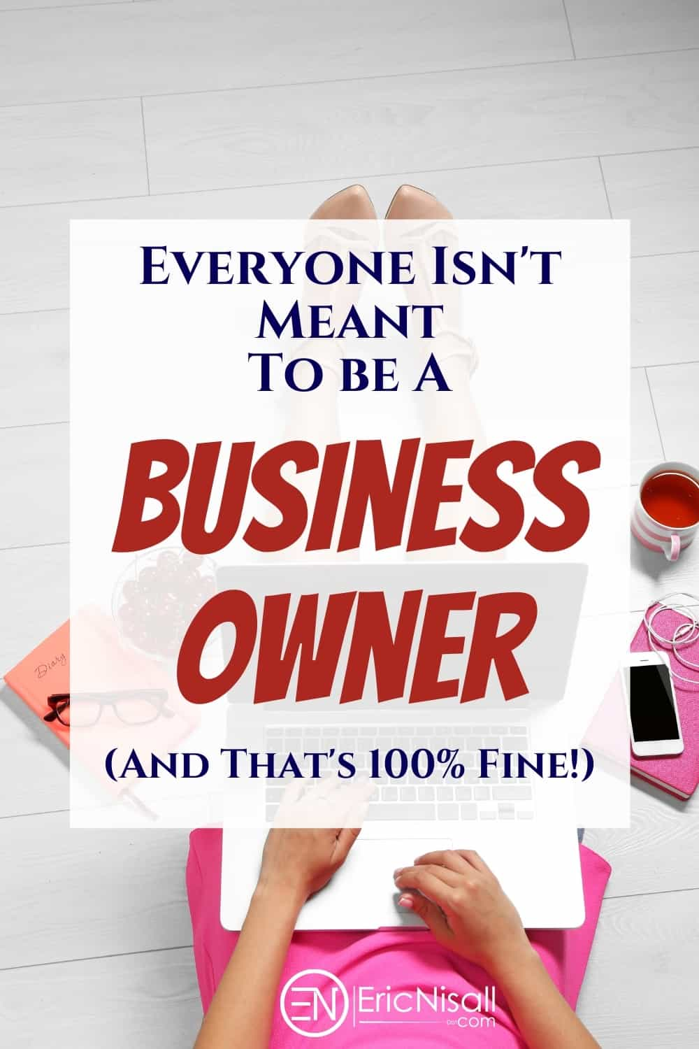 There's a lot of advice about entrepreneurship on the web. The problem is that the biggest thing people need to know about being a business owner is often never mentioned! via @ericnisall