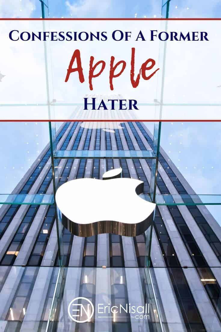 Apple has what can be described as a cult-like following, as well as many die-hard haters. This is the story of how one hater started to come around and see things in a different light. #iphone #ipad #mac #apple #google #android #cellphone #tablet #communication #smallbusiness #education via @ericnisall