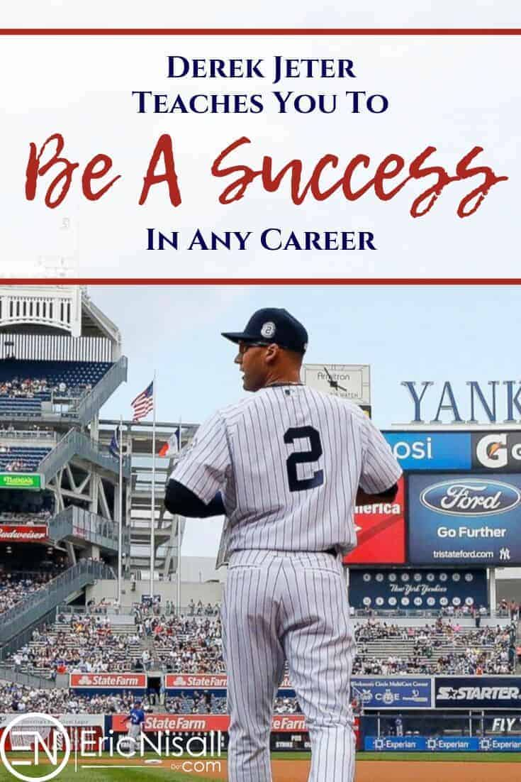 You always look for sources of career advice, and sometimes good sources will come as a surprise. They may even come in ways you never expected, like a superstar athlete. For people we put on a pedestal, we should look at what they can actually teach us. Here are some lessons specifically from a baseball star like Derek Jeter. #career #success #salary #income #budget #baseball #newyorkyankees via @ericnisall