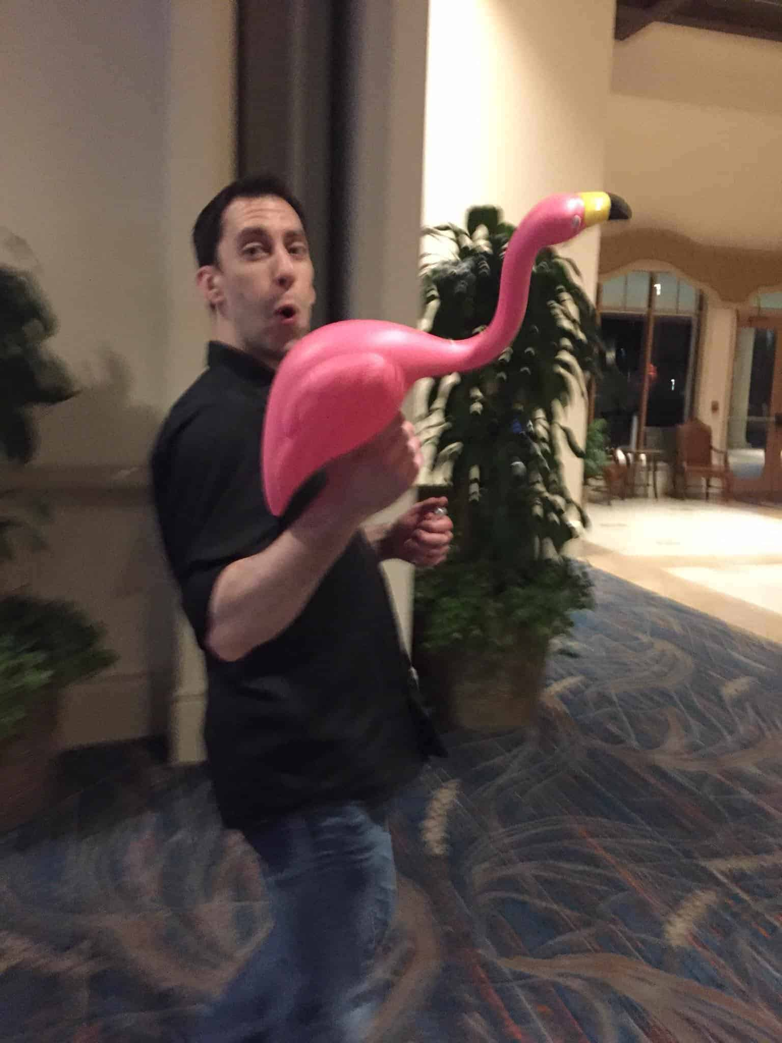 Eric Nisall at FinCon18 in Orlando