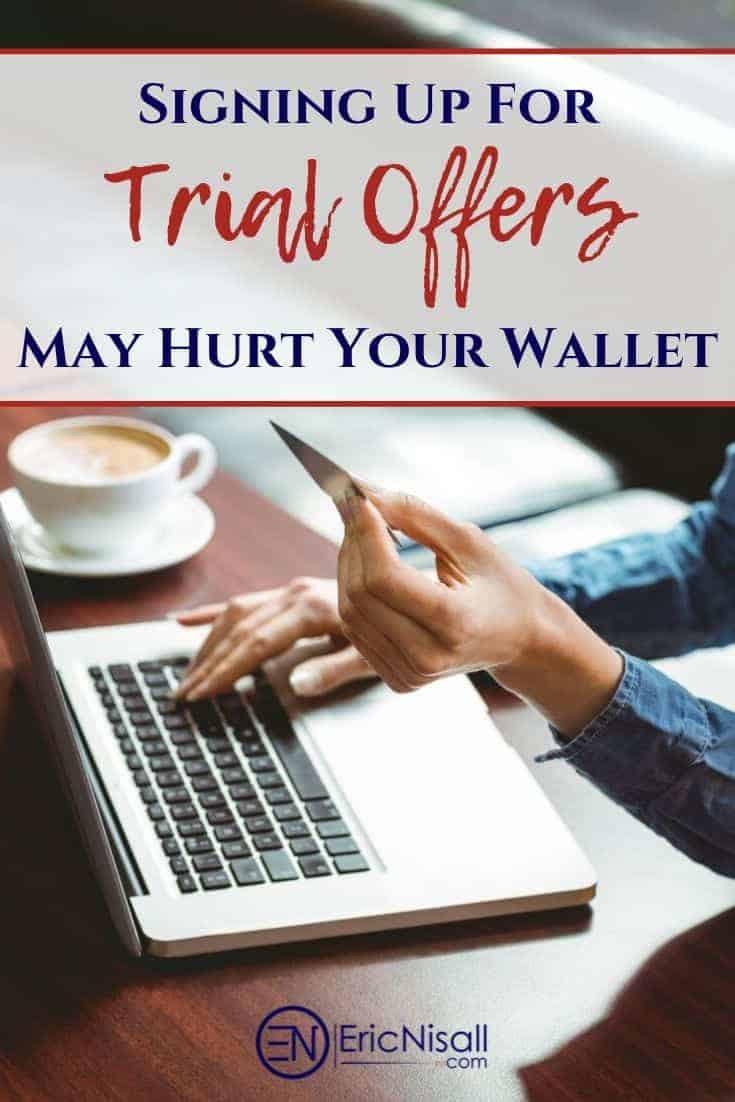 "Free trials offers are great. You get to test a service or get something ""free"". Be very careful, though, since the drawback to these offers can often times come back to bite you in the wallet. #software #creditreports #trialware #freebies #ebooks #budgeting #entertainment #shopping via @ericnisall"