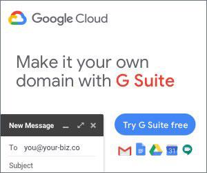 G Suite free trial