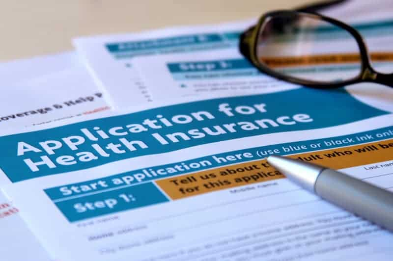 Application for group health insurance