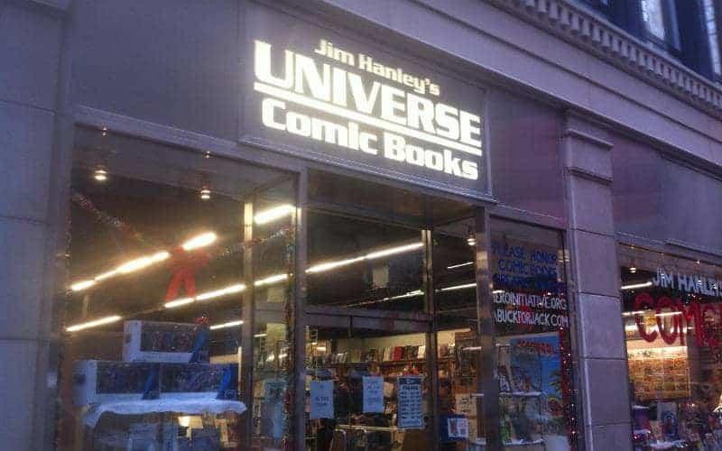 Jim hanleys Universe Eric Nisall