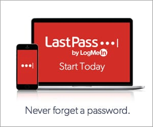 LastPass secure password manager