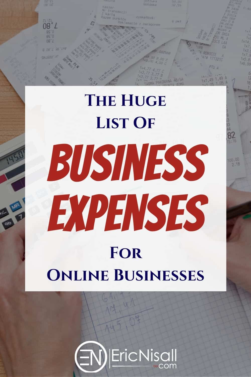 When it comes to running a business, not everything is deductible. There are a lot of people giving terrible advice about business expenses but I'm here to clear it up! via @ericnisall