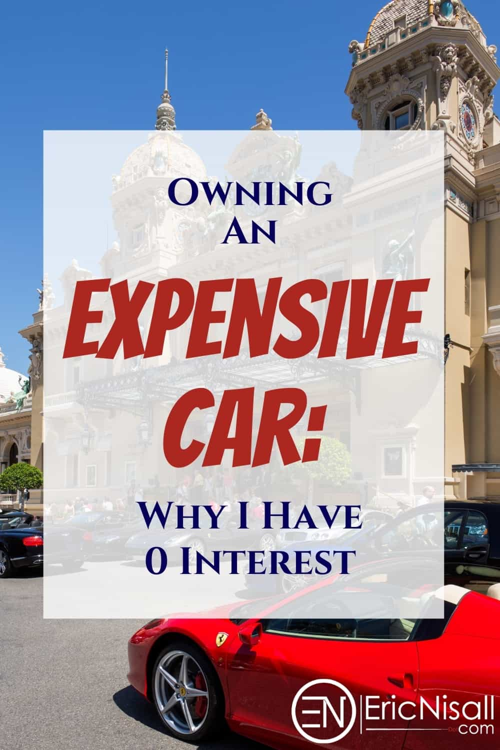 Expensive car as a status symbol? Cars as signs of financial wealth? Sorry, I don't buy it (no pun intended). To me a car is a way to get to where I'm going, and nothing more. via @ericnisall
