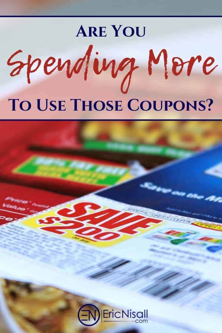 Page from weekend print newspaper insert with grocery coupons