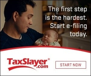 TaxSlayer tax filing