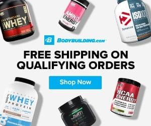 bodybuilding.com free shipping